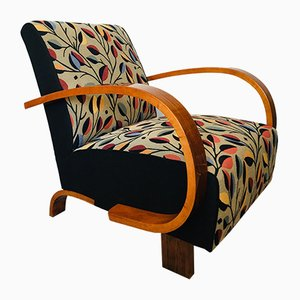 Czech Art Deco Armchair, 1930s