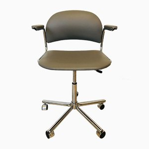 Light Grey Office Chair from Kovona, 1970s