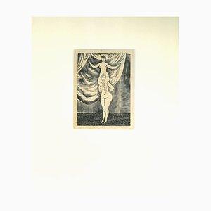 Nudes - Suite of 5 Original Radierungen von Leonard Tsuguharu Foujita - 1930er 1930er