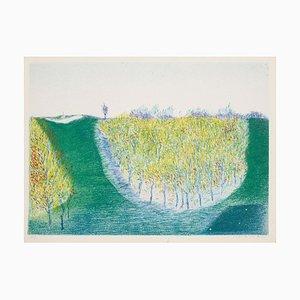 Landscape - Original Lithograph - XX century 20th century