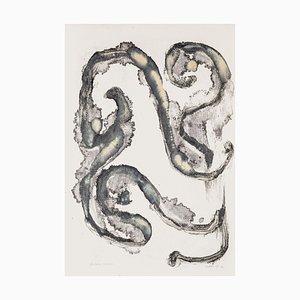 Composition - Litografia originale di Raphael Alberti - 1972 1972