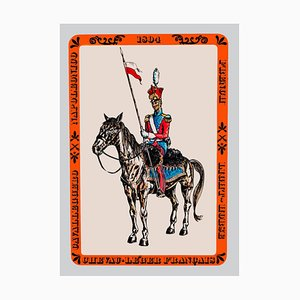 French Light-Horse - Vintage Offset Poster - Mid 20th Century Mid 20th Century