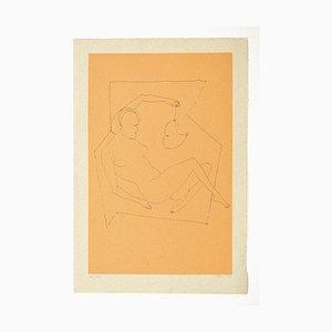 Composition - Original Lithograph on Paper - 1972 1972