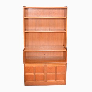 Teak Bookcase Cabinet from Nathan, 1960s