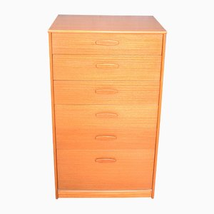 Teak Tall Chest of Drawers from Austinsuite, 1960s