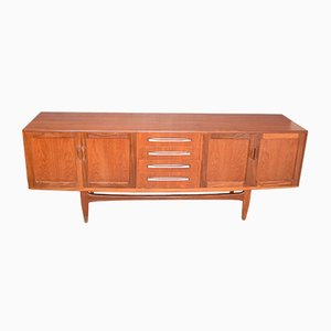 Vintage Teak Fresco Long Sideboard by Viktor Wilkins for G-Plan