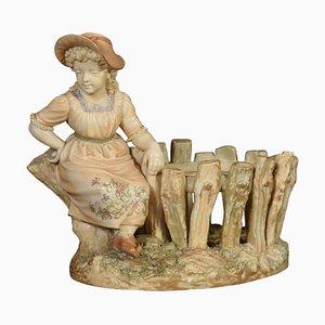 Antique Royal Worcester Hadley Figure