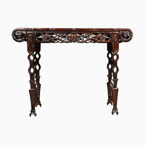 Antique Chinese Carved Alter Table