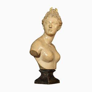 Antique Friedrich Goldscheider Bust