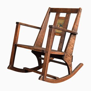 Antique Arts & Crafts Children's Rocking Chair