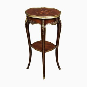 19th Century Gilt Bronze-Mounted Inlaid Table from Gillows