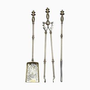 Dreibein Companion Feuerzeug Set aus Messing, 3er Set