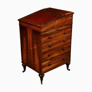 Antique Regency Rosewood Davenport Desk