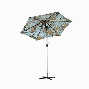 Parasol vintage con formas de radiación solar de Tony Duquette