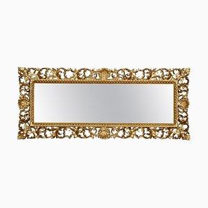 Antique Florentine Giltwood Wall Mirror