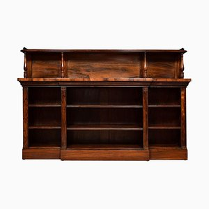 Regency Rosewood Open Bookcase