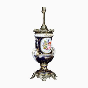 Antique French Table Lamp in the Style of Sevres