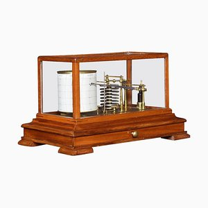 Antique Mahogany Cased Barograph