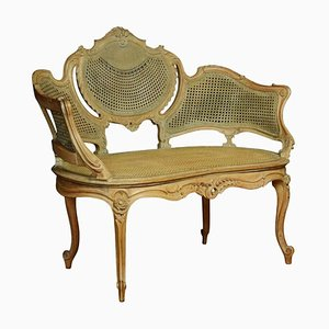 Louis XV Style Canapé Settee, 1900s