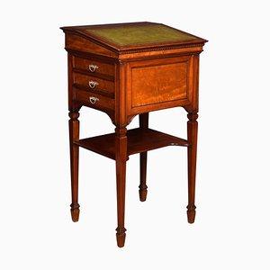 Großes Antikes Schreibtisch Rednerpult aus Nussholz