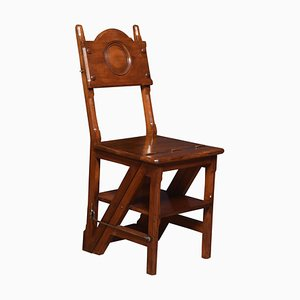 Antique Walnut Metamorphic Chair