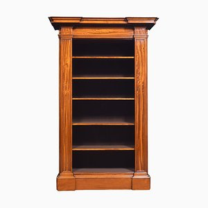 19th Century Satinwood Open Bookcase