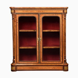 Walnut 2-Door Pier Cabinet