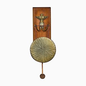 Antique Wall Hanging Dinner Gong