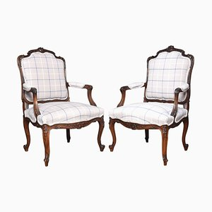 19th Century French Armchairs, Set of 2