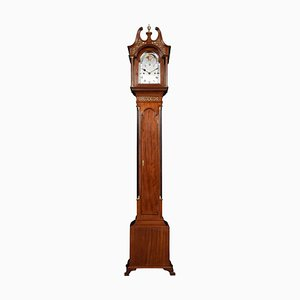 Mahogany Cased Grandmother Clock from Hampton & Son Pall Mall, 1900s