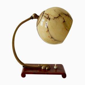 Austrian Art Deco Bedside Table Lamp, 1920s