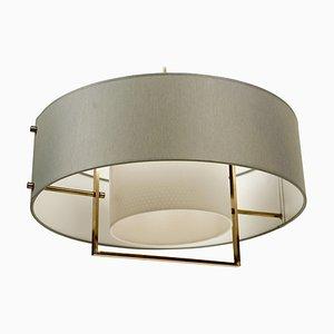 2-Tone Pendant Lamp from Kalmar, 1964