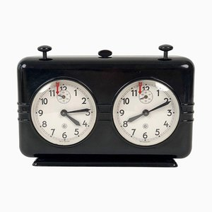 Vintage Bakelite Chess Clock Timer from Chronotechna, 1950s