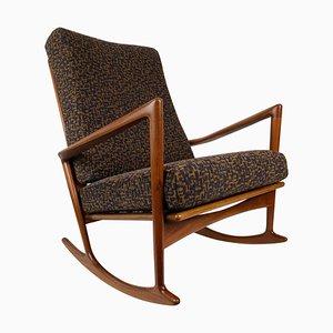 Rocking Chair by Ib Kofod-Larsen for Christian Linnebergs Møbelfabrik, 1962