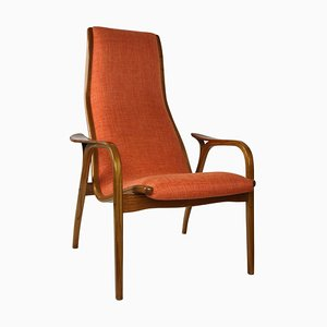 Mid-Century Lamino Armchair by Yngve Ekström for Swedese, 1950s