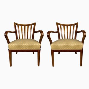 Cherry Chairs in the Style of Josef Frank, 1930s, Set of 2