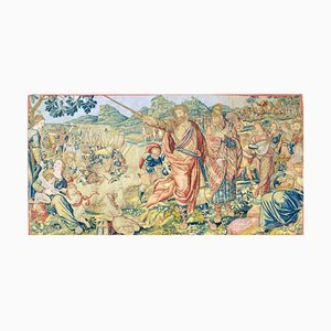17th Century Fine Tapestry of Bruxelles Moses and the Crossing of the Red Sea