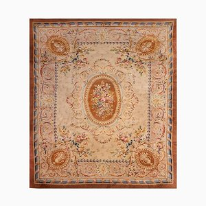 Sublime Savonnerie Rug with Floral Theme, 1850s