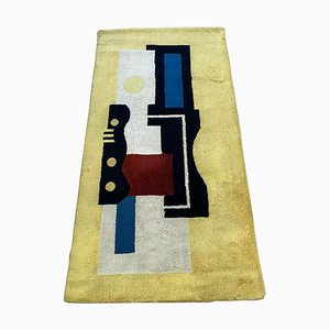 Yello 9 Artistic Rug by Fernand Léger, 1940s