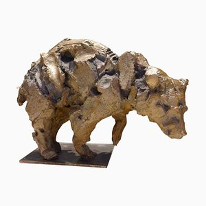 Bronze Bear Sculpture by Jean-François Gambino, 2013