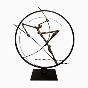Circle Leaping Sculpture by Nicola Rosini, 2015