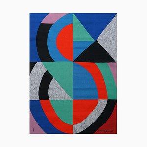 Modern Grande Icône Tapestry by Sonia Delaunay, 1970s