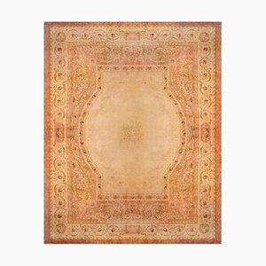 Französischer Louis XVI Savonnerie Teppich aus 19. Jahrhundert von Aubusson Manufacture