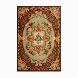 19th Century Louis Philippe Flowers Aubusson Rug