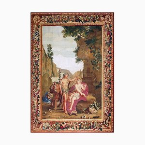 18th Century Bacchus and Ariane Tapestry from Beauvais