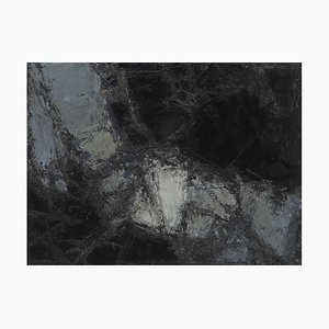 Untitled Lyrical Abstraction Oil Painting by Léon Zack, 1959