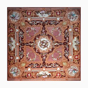 Antique Hand Woven Sallandrouze Aubusson Rug, 1851