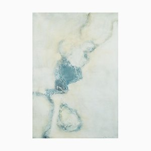 Untitled Lyrical Abstraction Oil Painting by Léon Zack, 1972