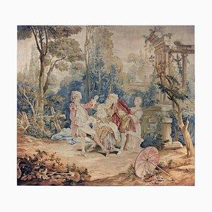 18th Century Garden Games Tapestry by François Boucher