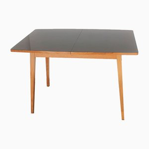 MId-Century Glossy Polished Dining Table, 1960s